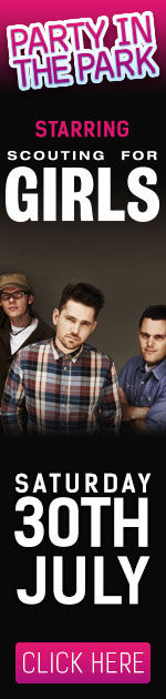 Party in the Park with Scouting for Girls - 30th July