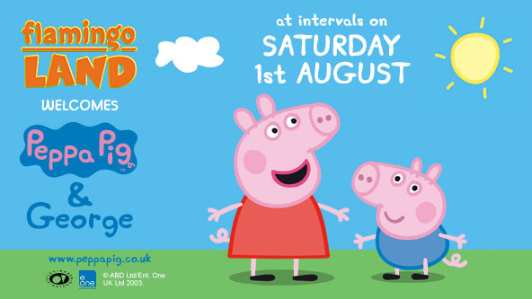 Peppa Pig at Flamingo Land! - 1st August 2015
