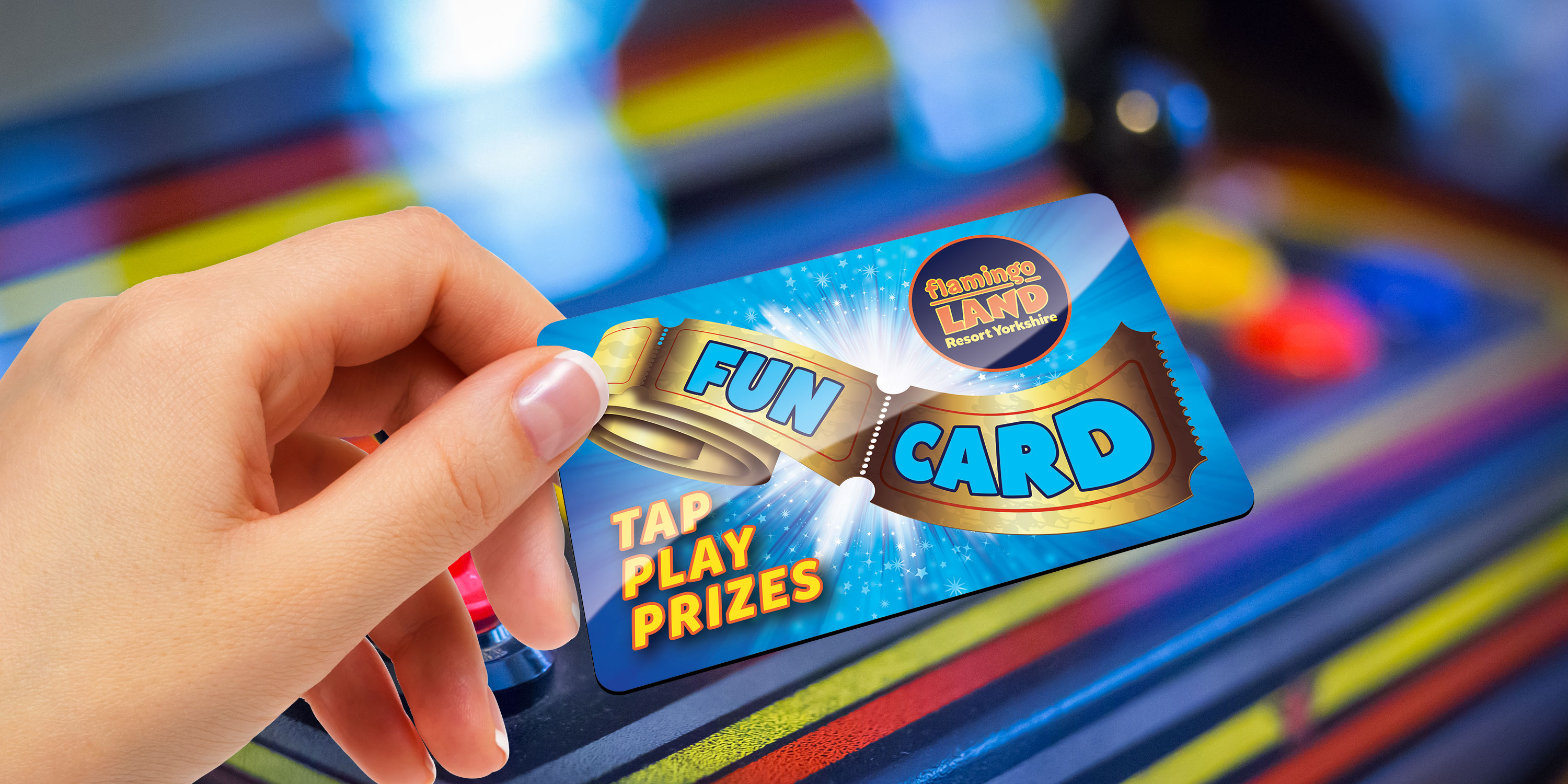 Introducing Our New Reloadable Fun Card - Flamingo Land Resort