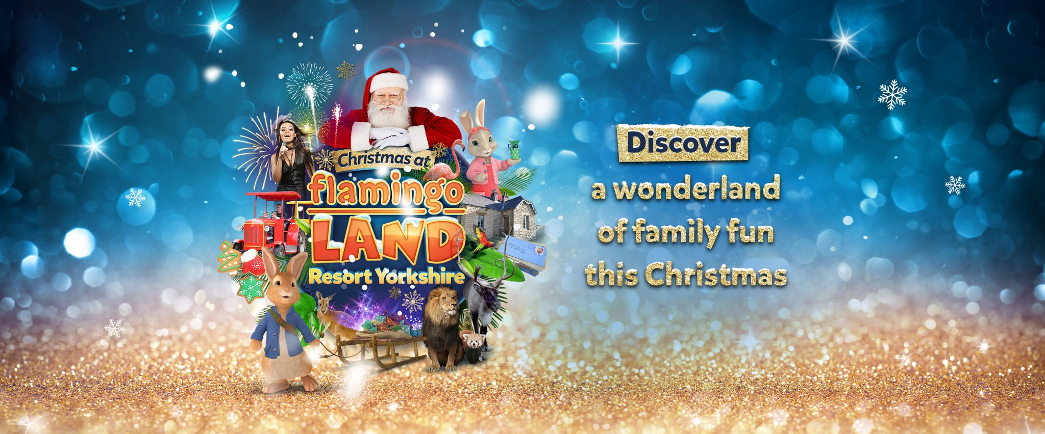 Christmas at Flamingo Land